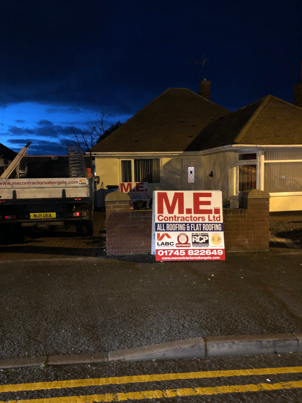 Tile roof repairs in Conwy.