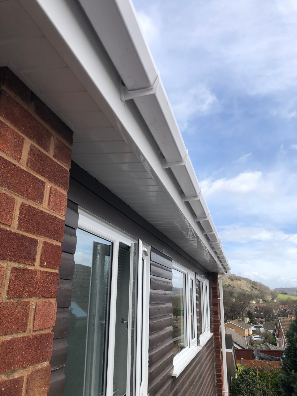 uPVC fascias and gutter replacements.