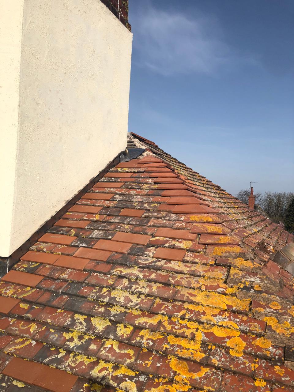 Chimney repairs.
