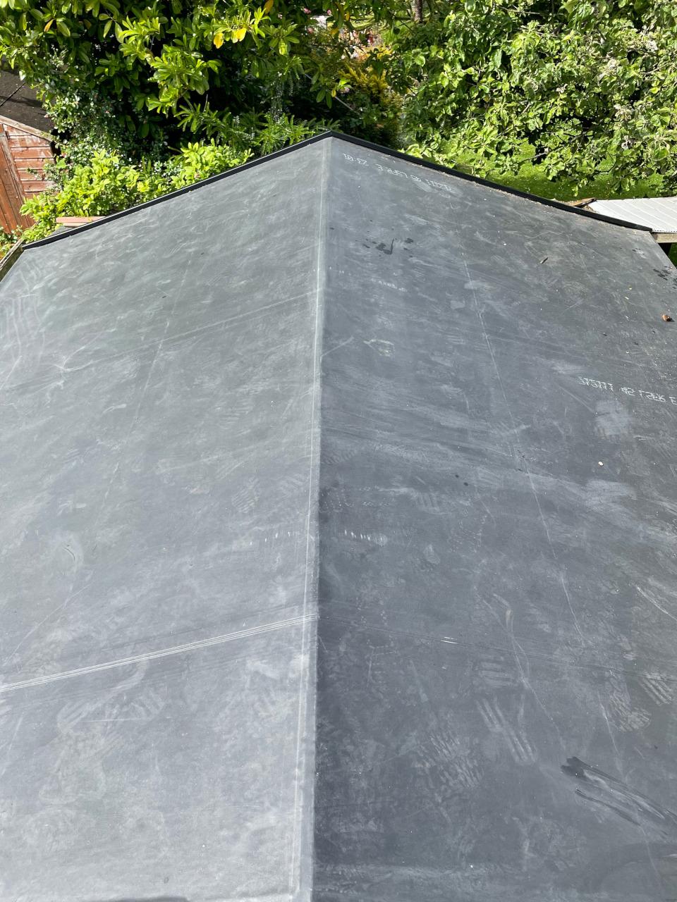 Slate roof repair in Betwys-y-Coed.