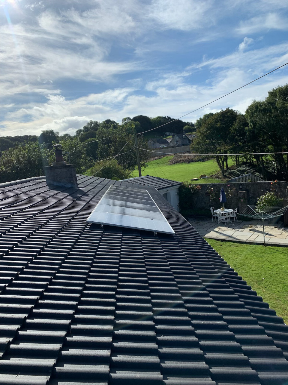 Roof replacement in Abergele.